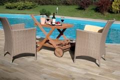 Carrelage terrasse imitation parquet Thonon