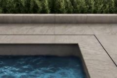 Carrelage terrasse piscine Chablais