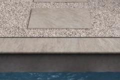 Carrelages terrasse piscine Sallanches