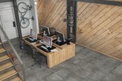 Carrelage sol design Chamonix